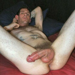 mature hung curved cock
