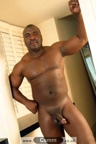 mature black daddy muscular