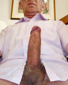 mature grandad huge cock penis