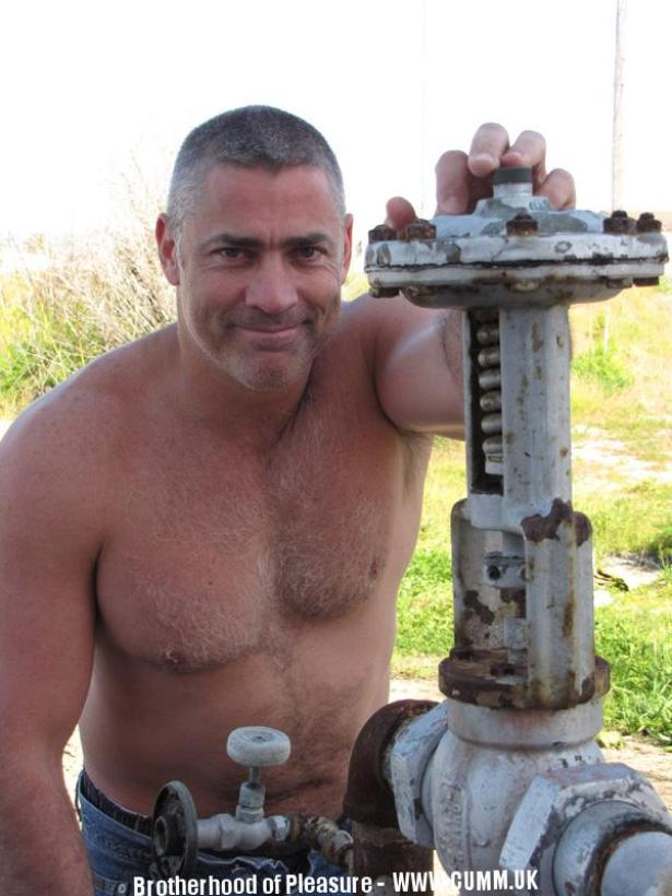 mature manly masculine