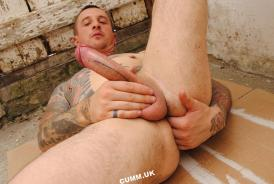 my prostate massaged while i wank on the building site