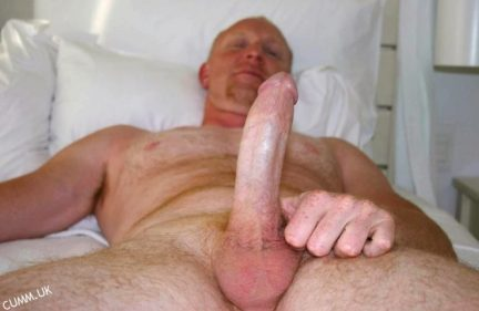 oiled and massaged hung