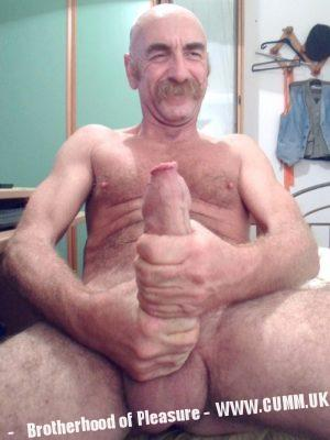 old hung hairy daddy foreskin