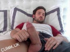 self-pleasuring thick man thick cock