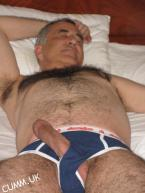 silver daddy hung mature-aussie-bum