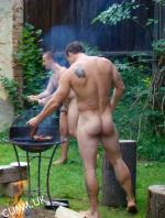straight guy sexy naked arse
