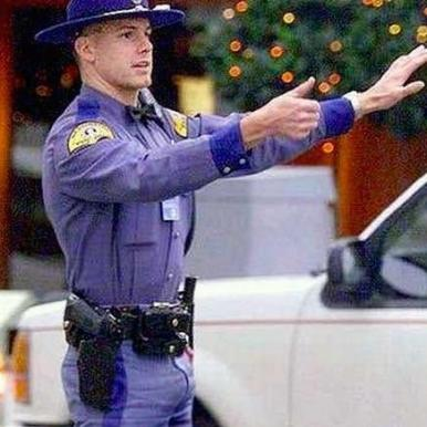 traffic cop bulge