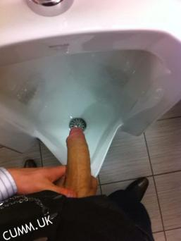 The best wank and suck i had was in a local public toilet at the park. I was pissing when i noticed a door swing open on the bog. As i leaned back with my semi erect cock i saw a guy sat there wanking so without saying a word i stepped up to the door with my cock now fully erect. He was a great sucker taking my cock all the way down his throat when suddenly another guy appeared in the toilet who appeared to know the other guy which was fortunate as he was still sucking my stiff willy. So now i was getting a great blow job from this first guy and a lovely bum feel and ball fondle from the guy stood behind me. I finished off filling the guys mouth with loads of cum. He sounded like he was going to choke (i cum a lot more than some!) So we all enjoyed ourselves and now the weather is here i'll be back at least 3 times a week in the hope that someone will show up to suck me dry Chilly Willy