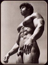vintage black bodybuilder lovely fat cock