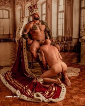 KING COCK SUCKED