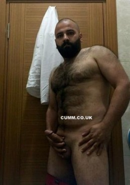 hairy belly sexy arab wanking