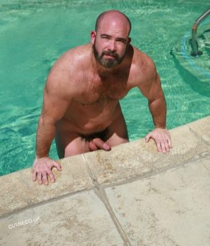 penis sizwe average nude swimmer bear