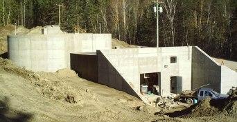 reservoir-WTP-Concrete-Structure