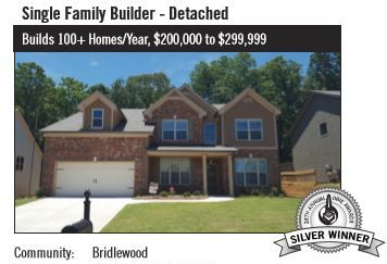 Almont Homes Obie Award Winner Bridlewood Neighborhood