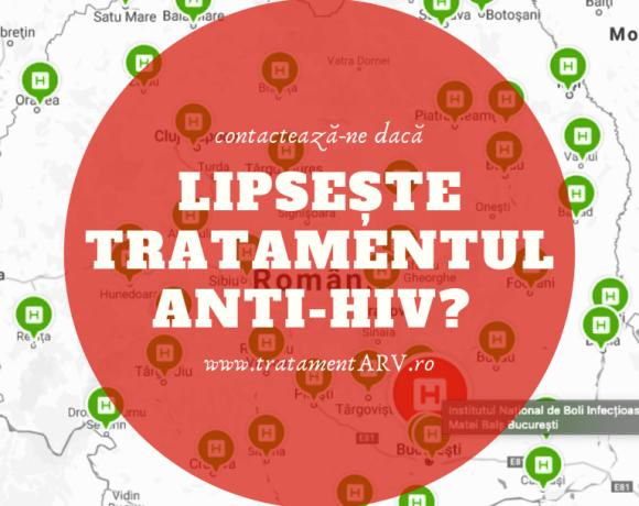 Platforma națională de monitorizare a accesului la tratament anti-HIV!
