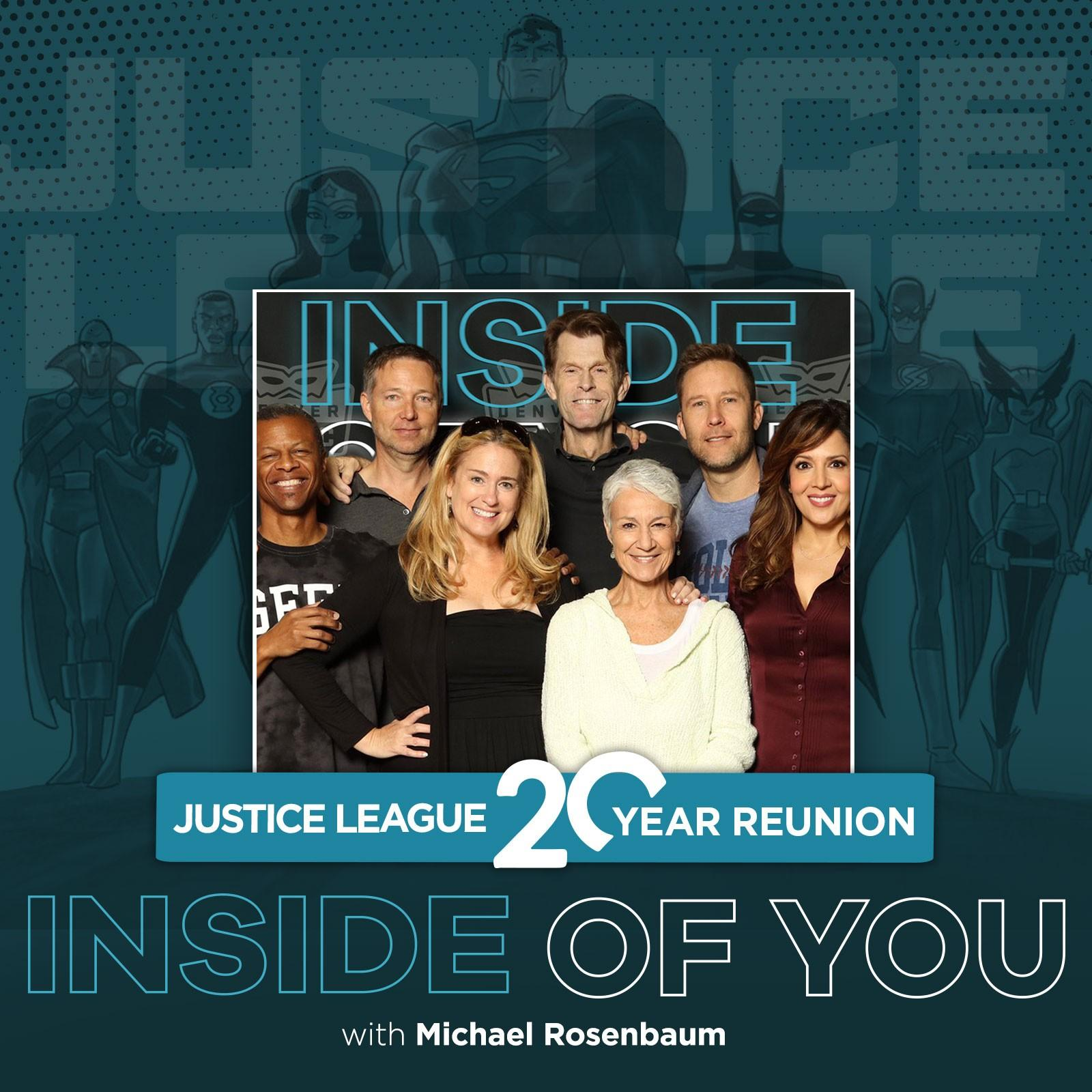 THE CAST OF JUSTICE LEAGUE REUNITES ON MICHAEL ROSENBAUM'S INSIDE OF YOU PODCAST