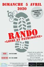 5 Avril 2020 - Rando Loire et Patrimoine - Cunault