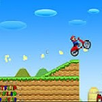 Mario đua moto
