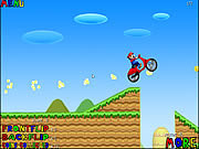 Chơi game mario đua moto