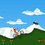 Naruto lái xe đạp