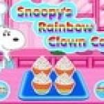 bánh bông lan của Snoopy