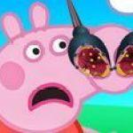 Bác sĩ chữa mũi cho Peppa Pig
