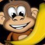 Khỉ con lượm chuối