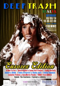 Deep Trash Eurosex Edition Poster
