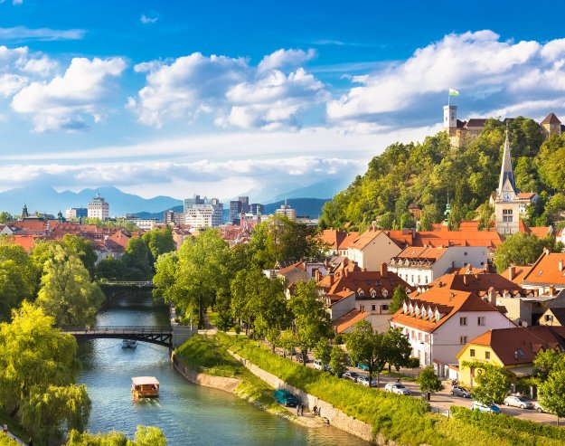 Ljubljana, Slovenia, from PopSugar.com's list of 23 places to visit. And stop number three for me!