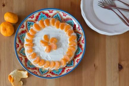 Crostata de mandarina