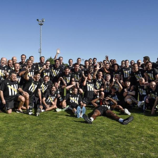 La Juventuscampione d'italia