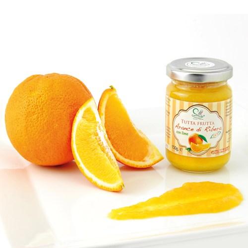 tutta frutta arance di Ribera e lime