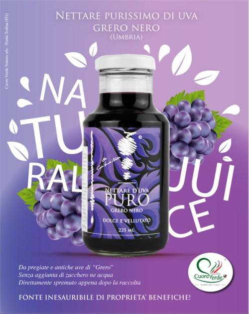 succo di uva Grero
