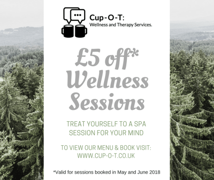 £5 off Wellness Sessions