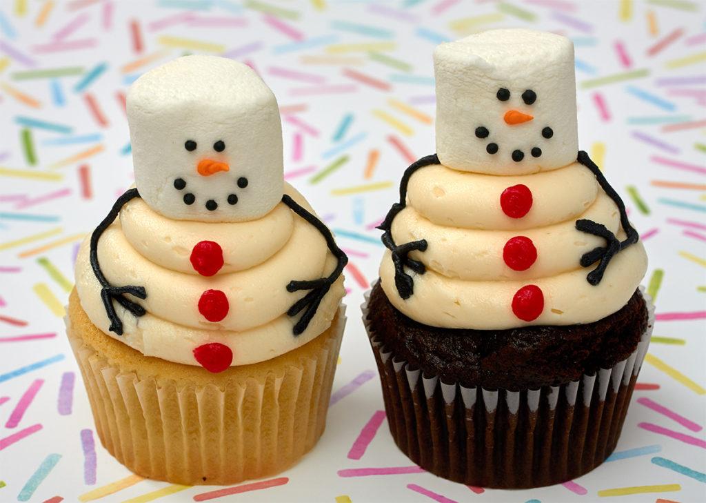Holiday And Christmas Cupcakes