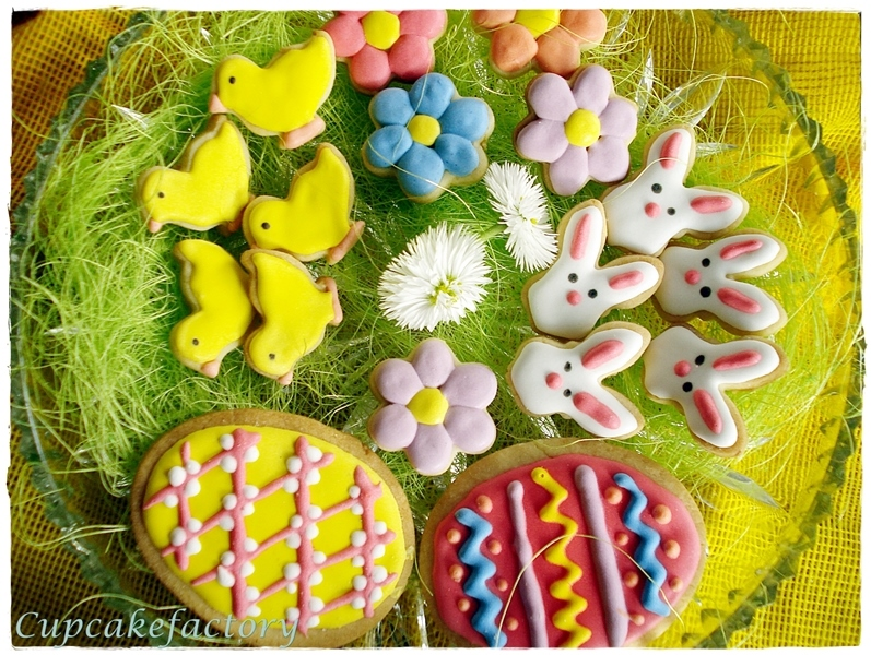 Wielkanocne ciasteczka - cytrynowe, kruche