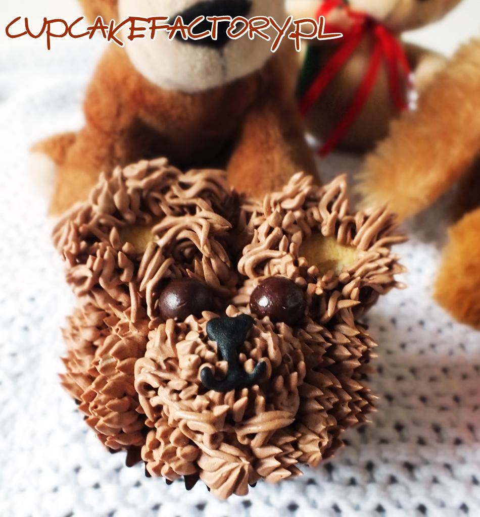 Teedy bear cupcakes
