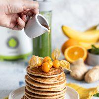 Fit pancakes: przepis na zdrowe owsiane pancakes