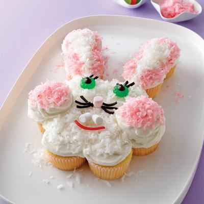 Pull Apart Bunny Cake