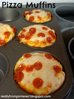 Cupcake Pizza Bites