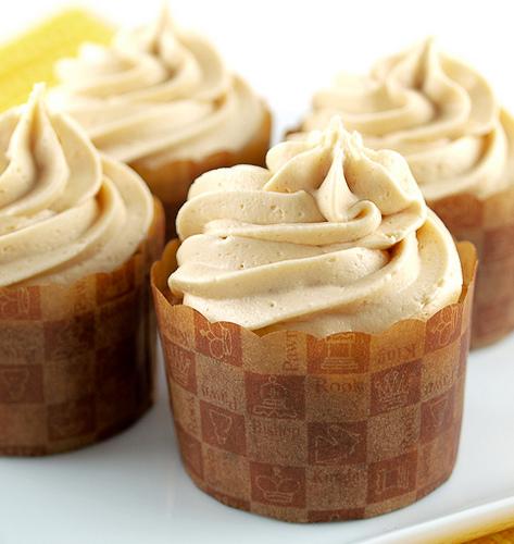 Jam Filled Banana Cupcakes