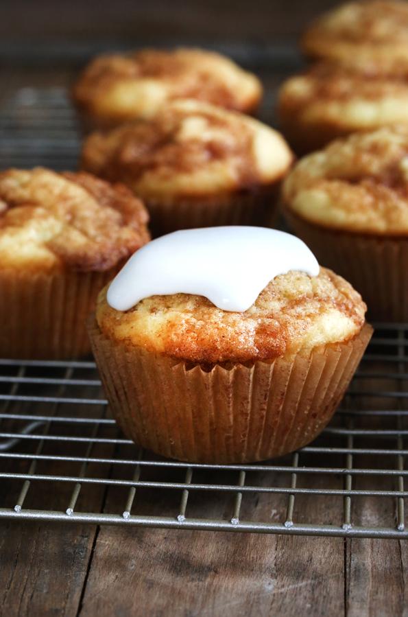 Cinnamon Roll Cupcakes (gluten free)