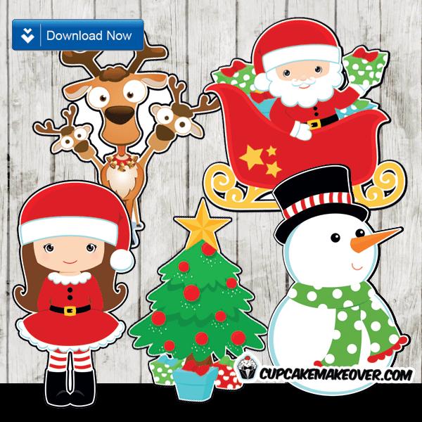 Christmas Cutout Decorations: Printable Christmas Decorations Cutouts
