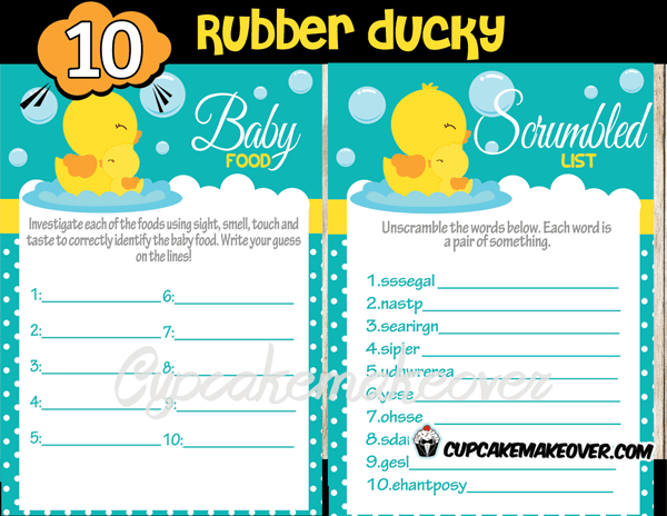 Shower Baby Polka Dots Decorations