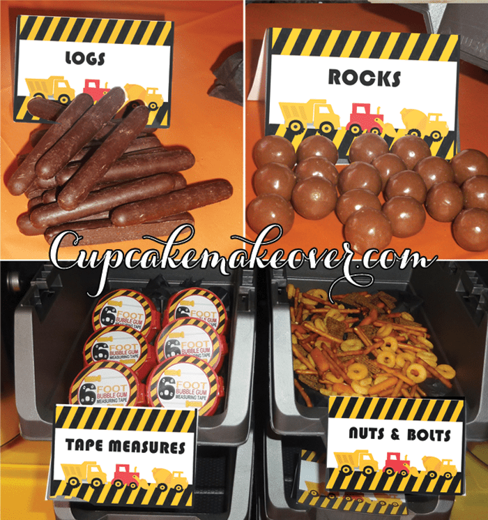 How To Plan An Awesome Construction Birthday Party Cupcakemakeover