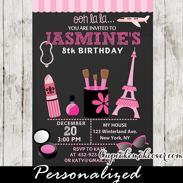 parisian little diva birthday party