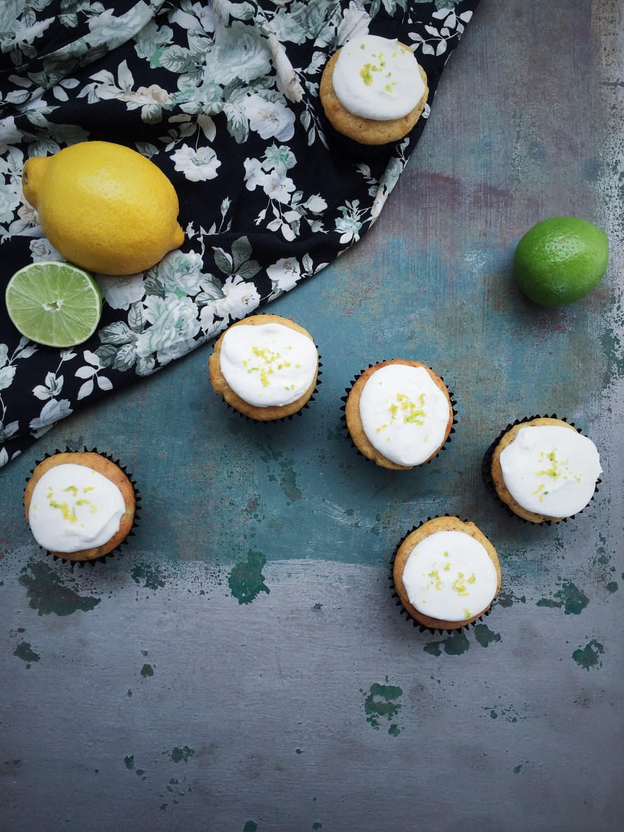 Lemon and Lime Cupcakes
