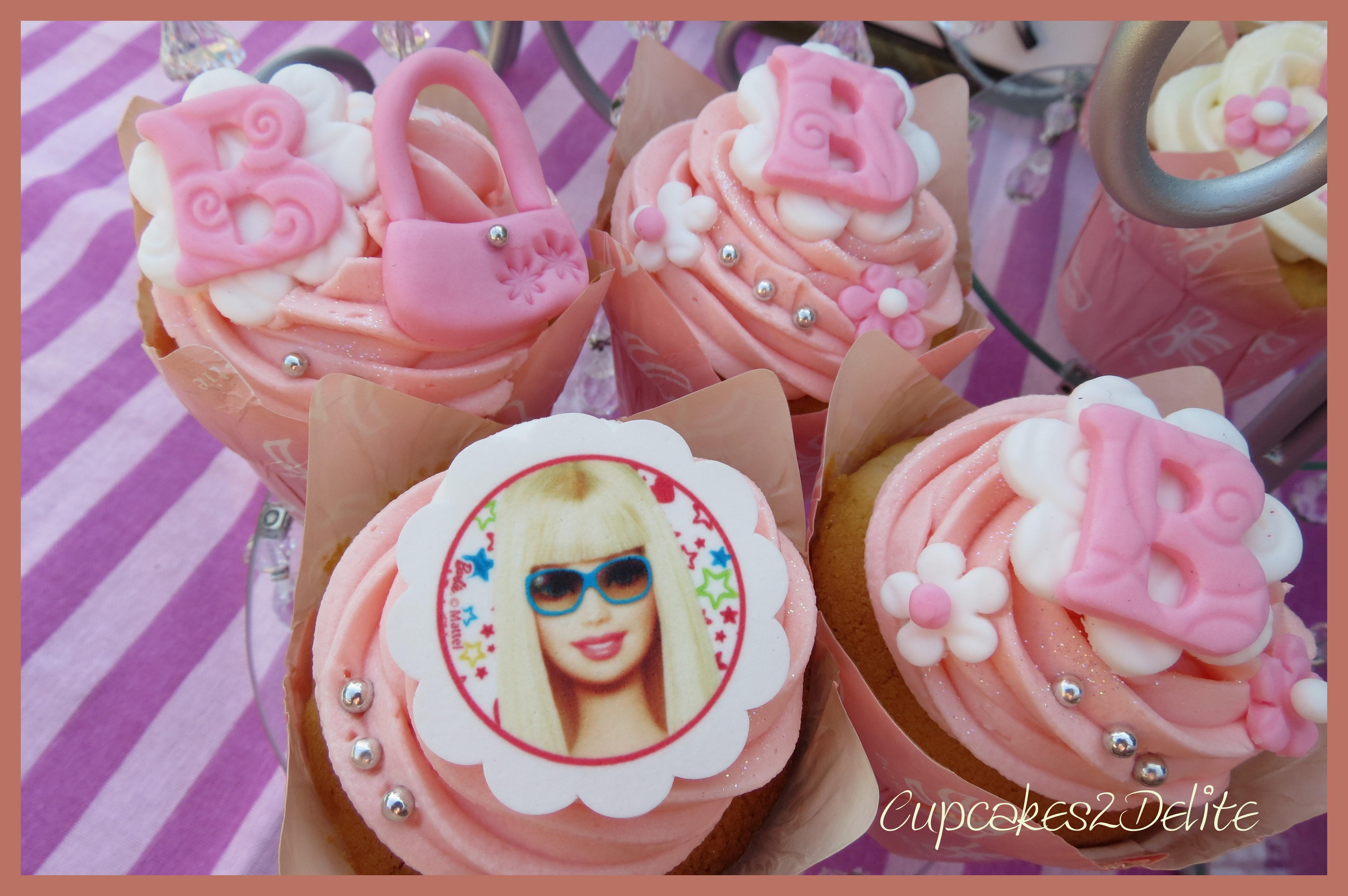 Barbie Cupcakes Cupcakes2delite