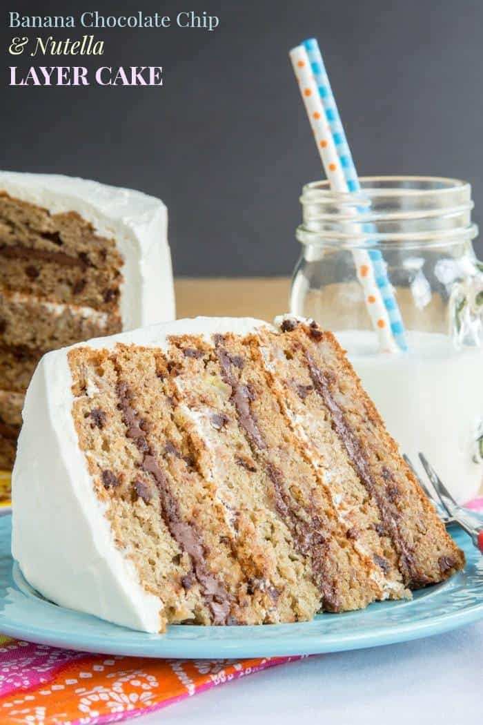 Banana Cake Cake Recipe