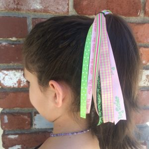 Pink Big Sister Hair Streamer